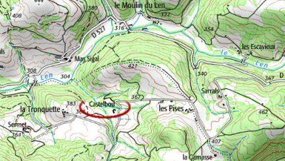 Lieu-dit Castelbou à Lautrec